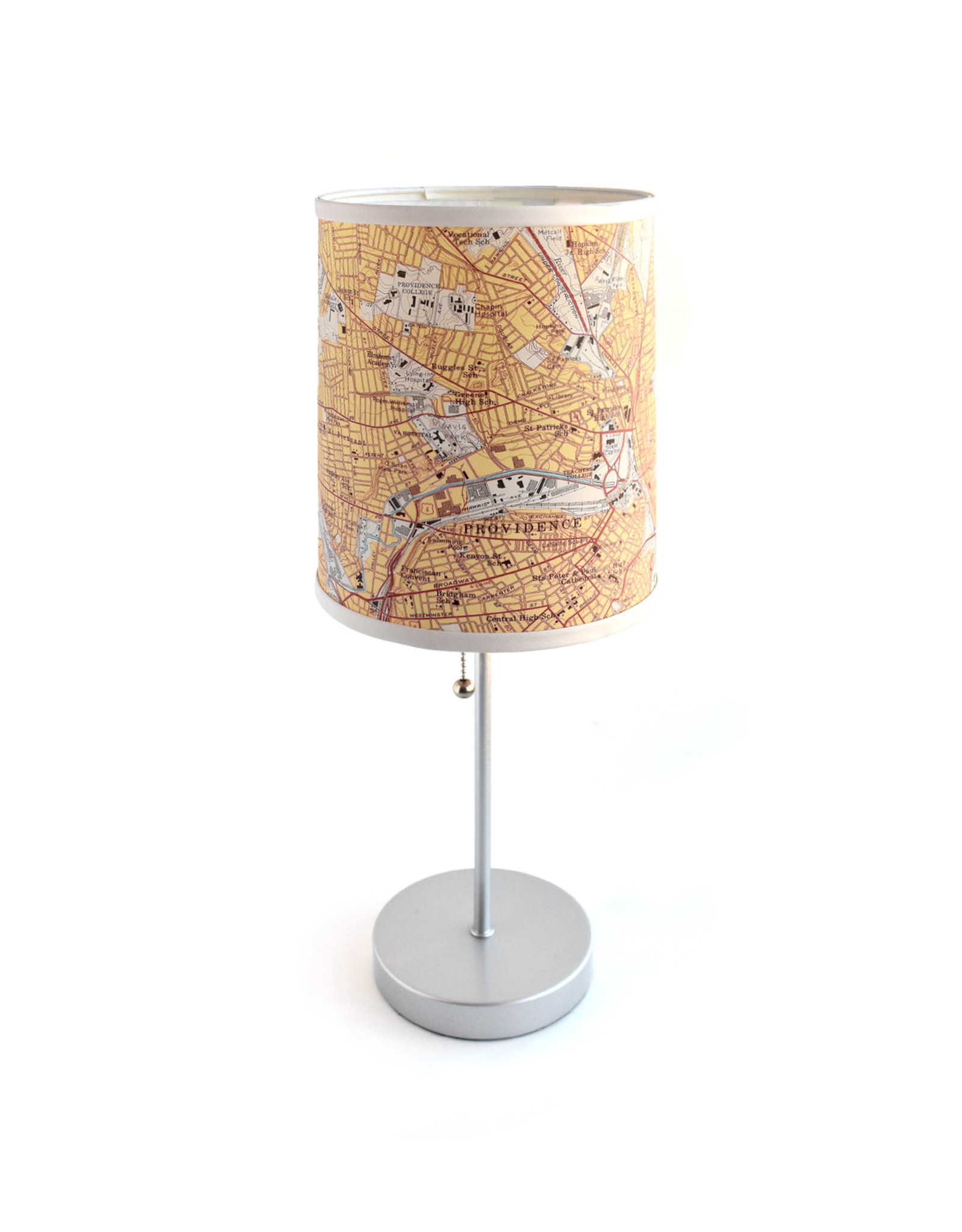 Providence Map Lamp