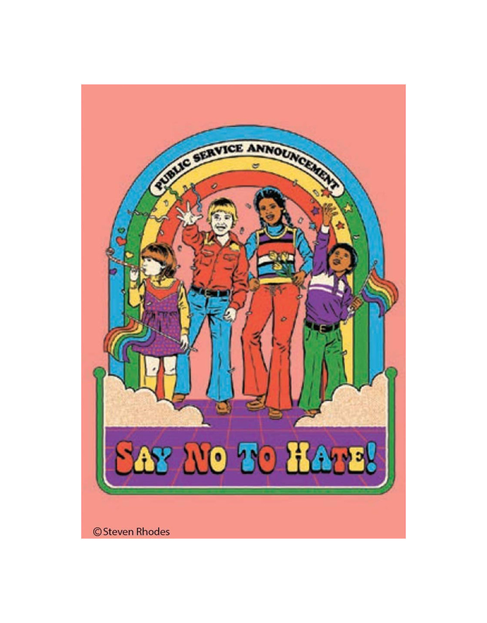 Say No to Hate Magnet
