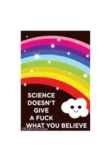 Science Doesn't Give A Fuck Magnet