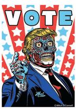 Vote Trump Zombie Magnet