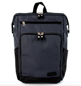 Two Tone Gaba City Backpack -  Grey