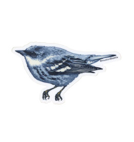 Cerulean Warbler Sticker