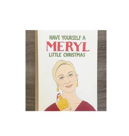 Meryl Little Christmas Greeting Card