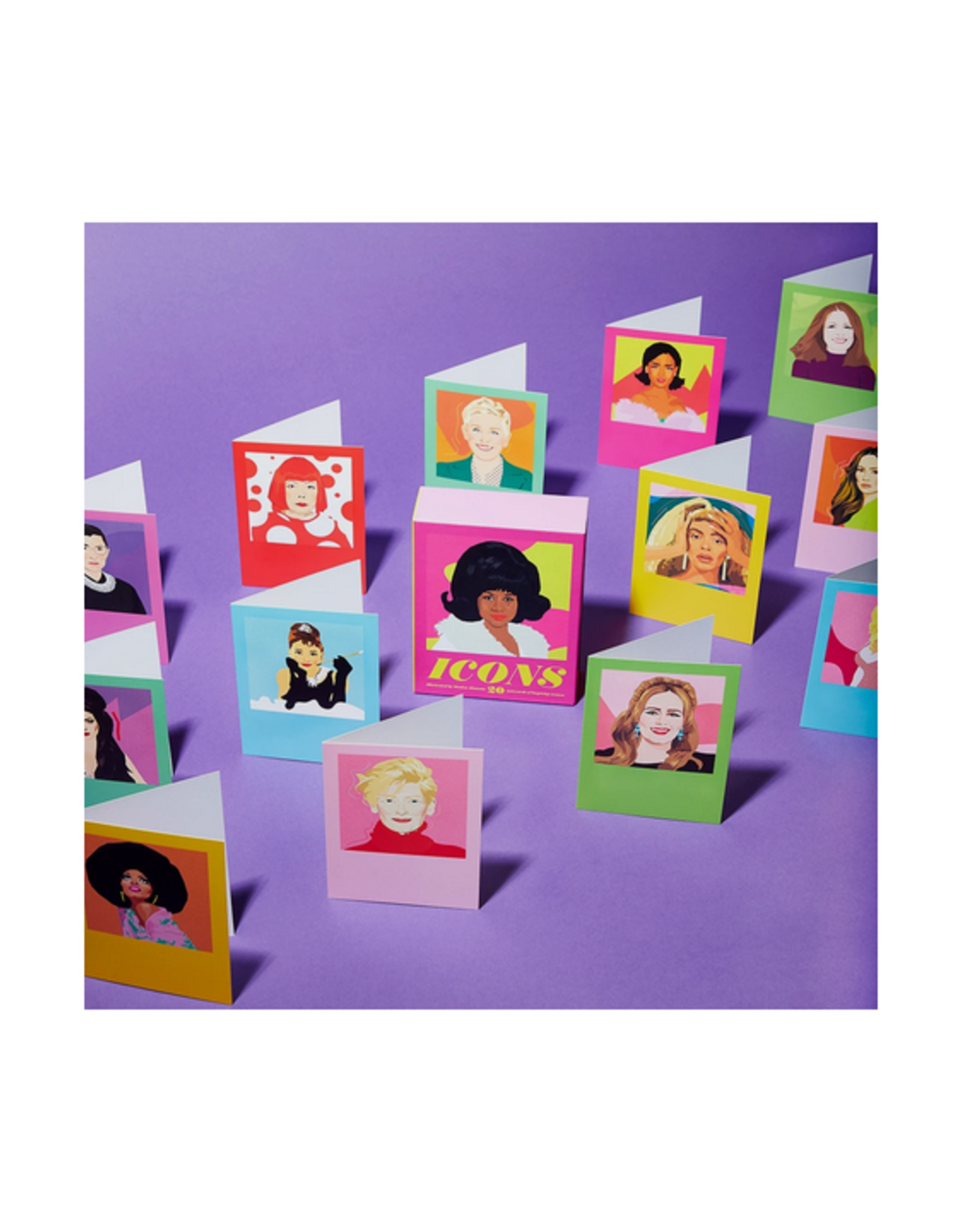 Icons Notecard Set