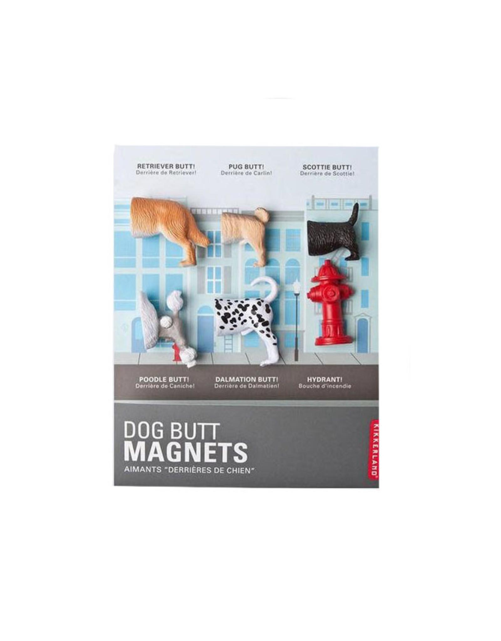 Dog Butt Magnets Set of 6