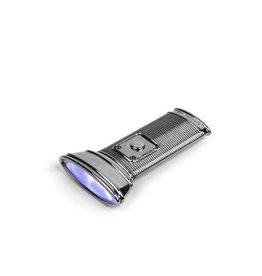 Flashlight Flat Silver