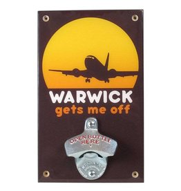 Warwick Gets Me Off Bottle Opener - Seconds Sale!