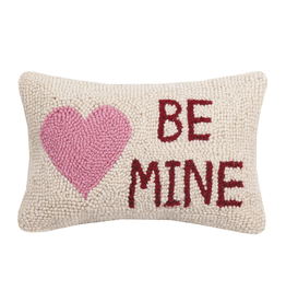Be Mine Handcrafted Hook Pillow - Seconds Sale!