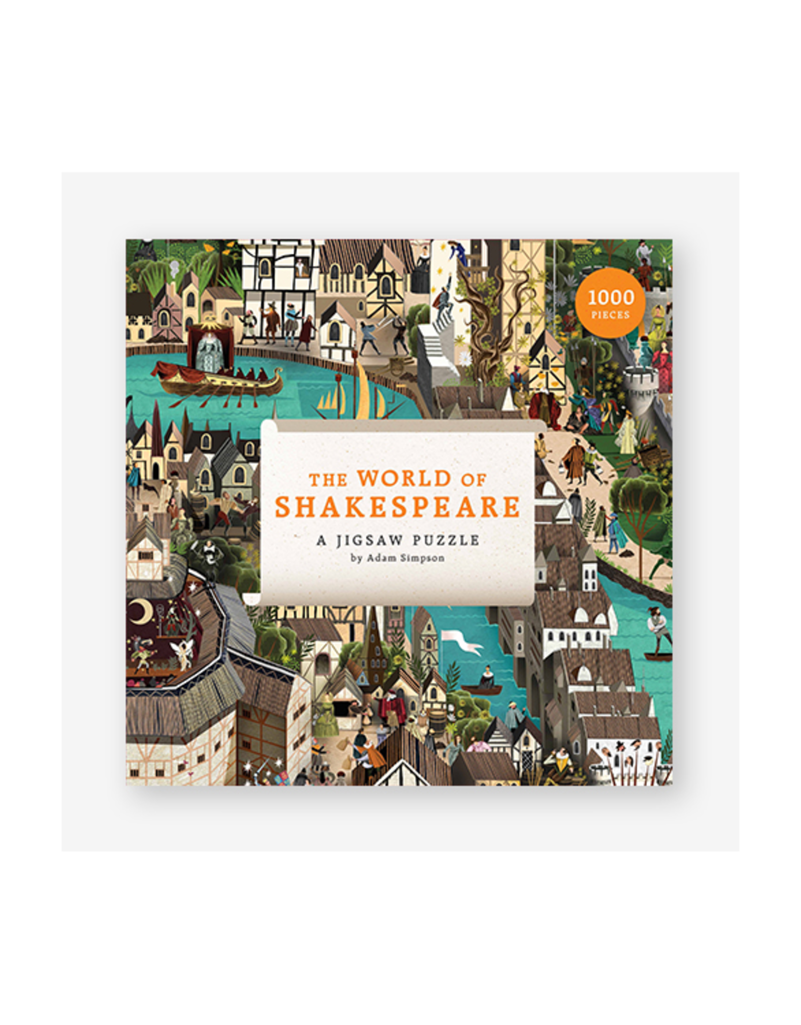 The World of Shakespeare Puzzle