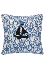 Sailing the Seas Pillow