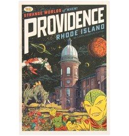 Strange Worlds of When! Print - Atlantic Mills