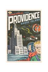 Strange Worlds of When! Postcard - Superman Building
