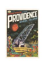 Strange Worlds of When! Postcard - Crook Point Bridge