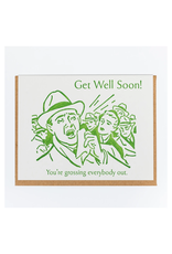 Get Well Soon Gross Greeting Card