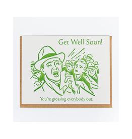 Get Well Soon Gross Greeting Card