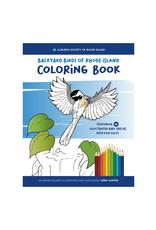 Backyard Birds of Rhode Island Coloring Book