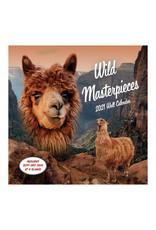 Wild Masterpieces Wall Calendar 2021