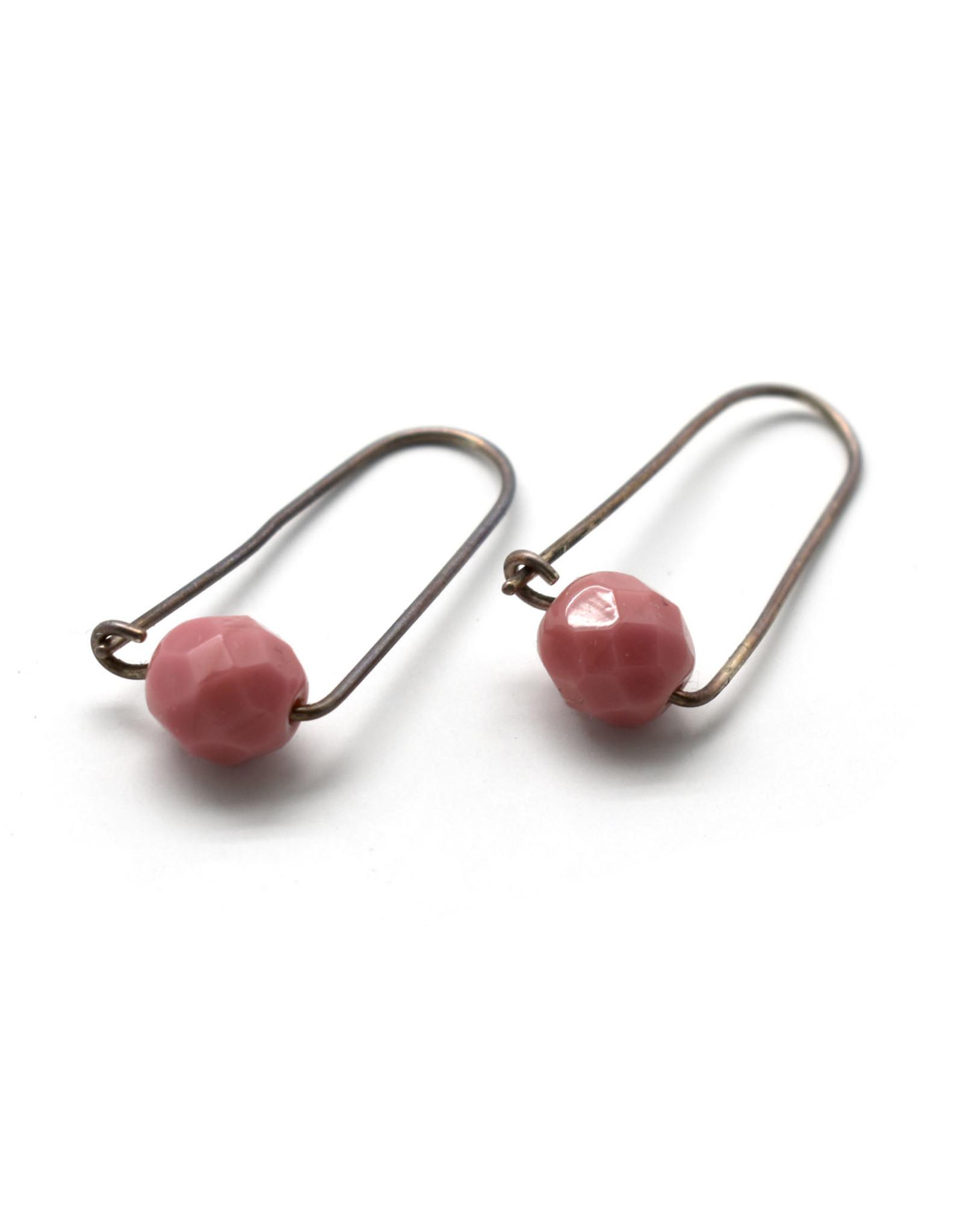 Pink Box Earrings