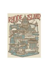 Rhode Island Neighborhoods Print