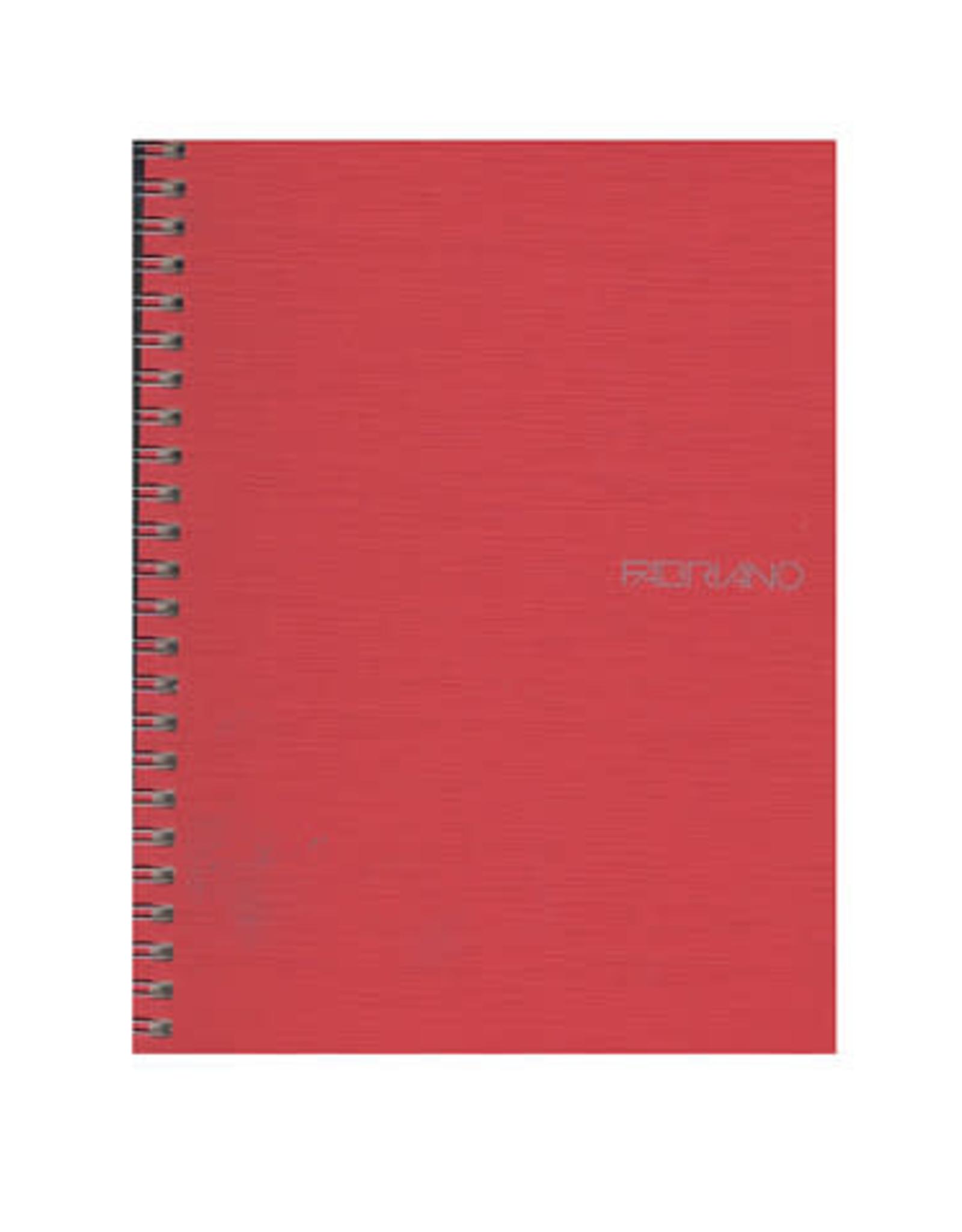 Fabriano Eco Qua Spiral Notebook - Raspberry