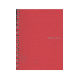 Fabriano Eco Qua Spiral Notebook - Raspberry