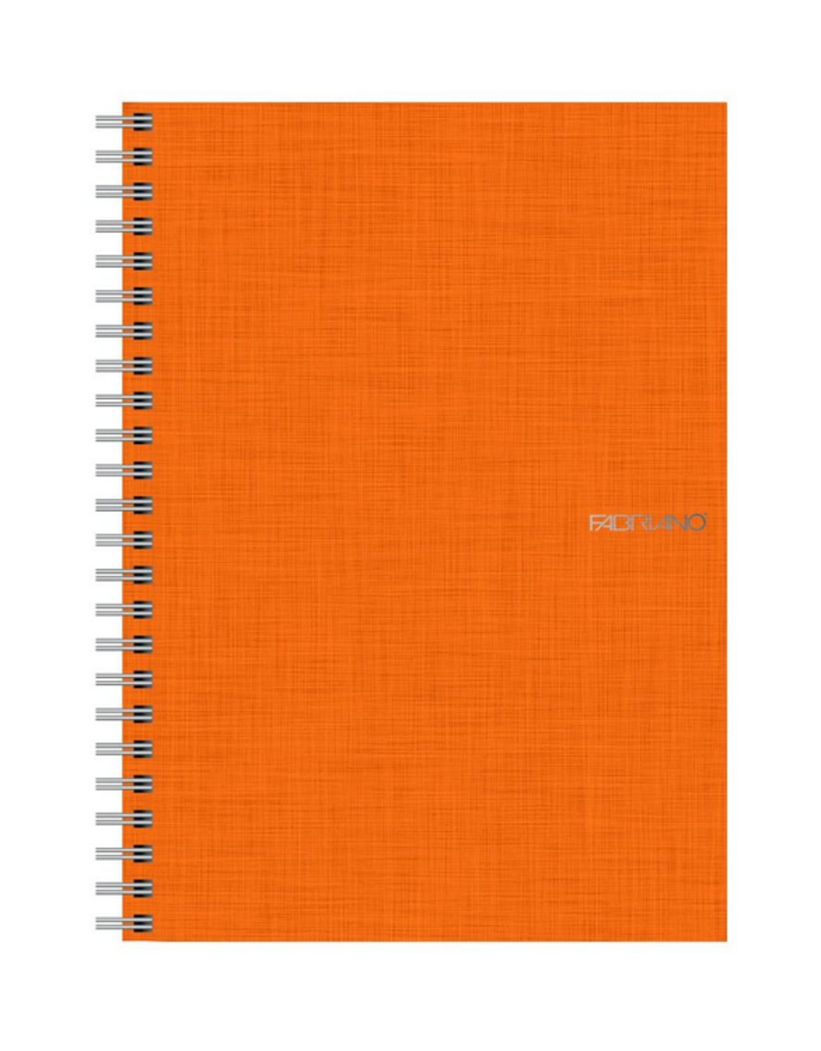 Fabriano Eco Qua Spiral Notebook - Orange