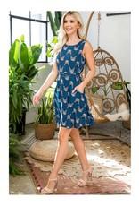 Tabby Cat Dress with Pockets