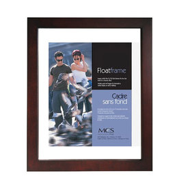 MCS Frames 6x8 Floating Picture Frame - Walnut