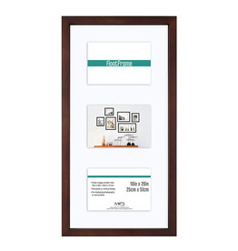 MCS Frames 10x20 Floating Picture Frame - Walnut