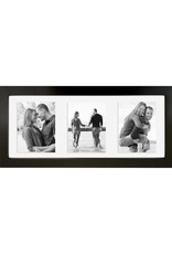 5.5x13 Floating Picture Frame - Walnut
