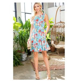 Spring in Bloom Dress with Pockets