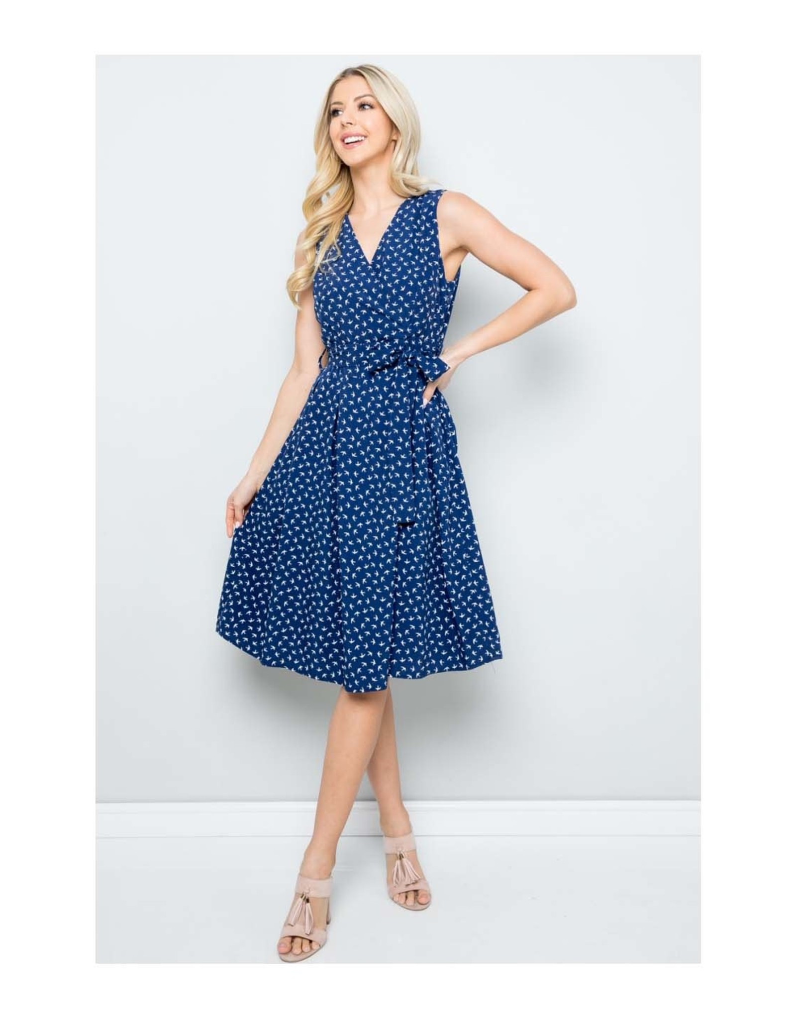 Swallow Midi Dress