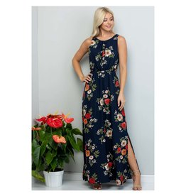 Midnight Rendezvous Maxi Dress