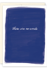 There are No Words Greeting Card