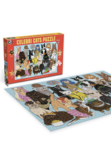 Celebrity Cats Puzzle - 1000 Pieces