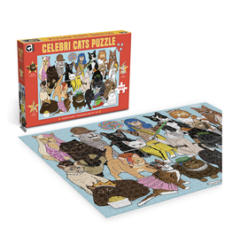 Celebrity Cats Puzzle - 1000 Pieces