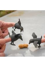 Crow Finger Puppet