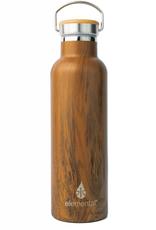 Teak Wood Classic Water Bottle - 25 oz