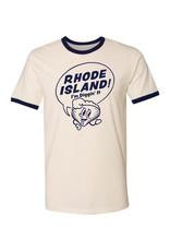 Rhode Island! I'm Diggin' It Clancy Ringer T-Shirt (U-L) - Seconds Sale