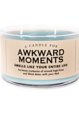 A Candle for Awkward Moments -Seconds Sale!