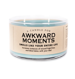 A Candle for Awkward Moments