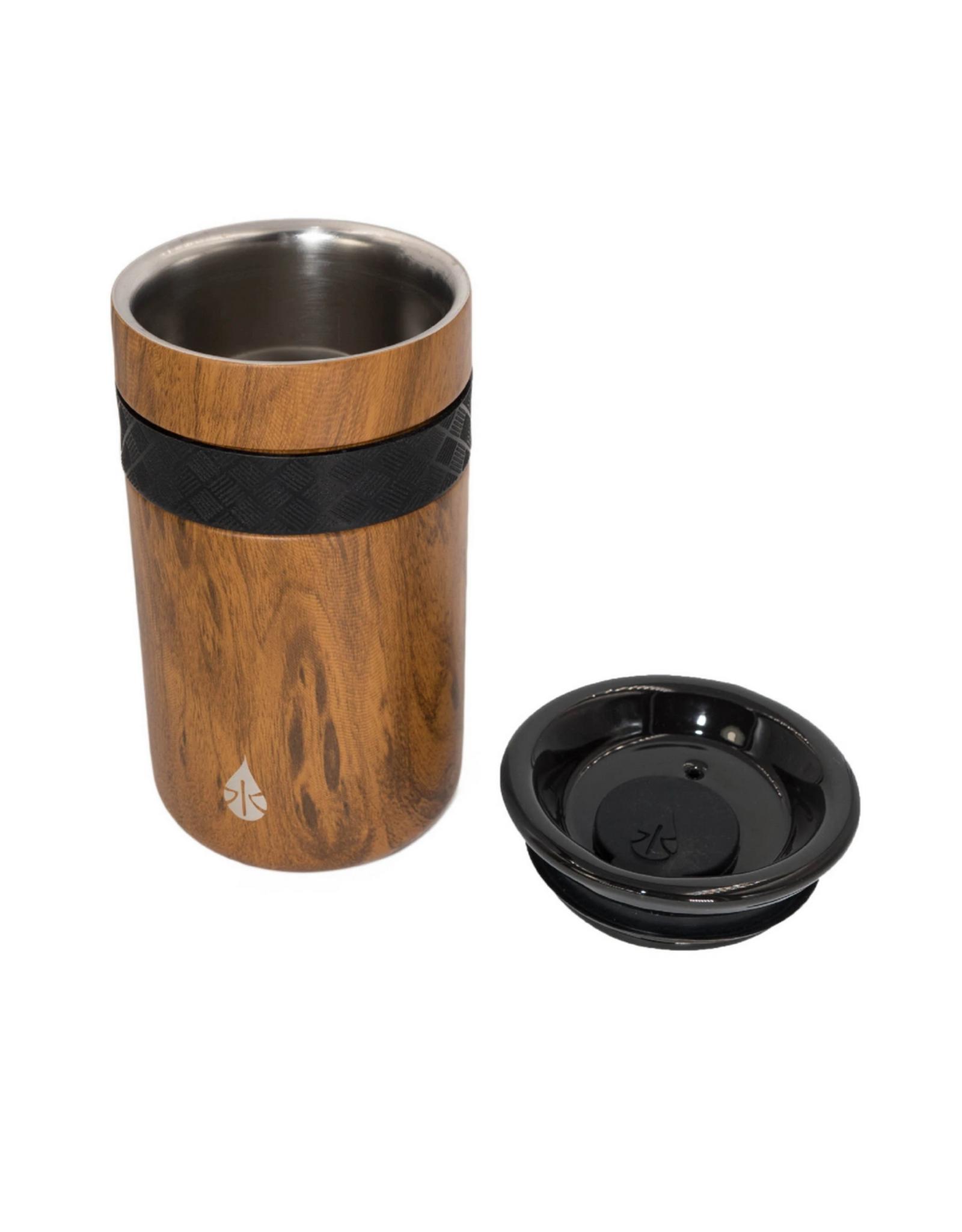 Teak Wood Tumbler - 12 oz