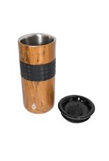 Teak Wood Tumbler - 16 oz