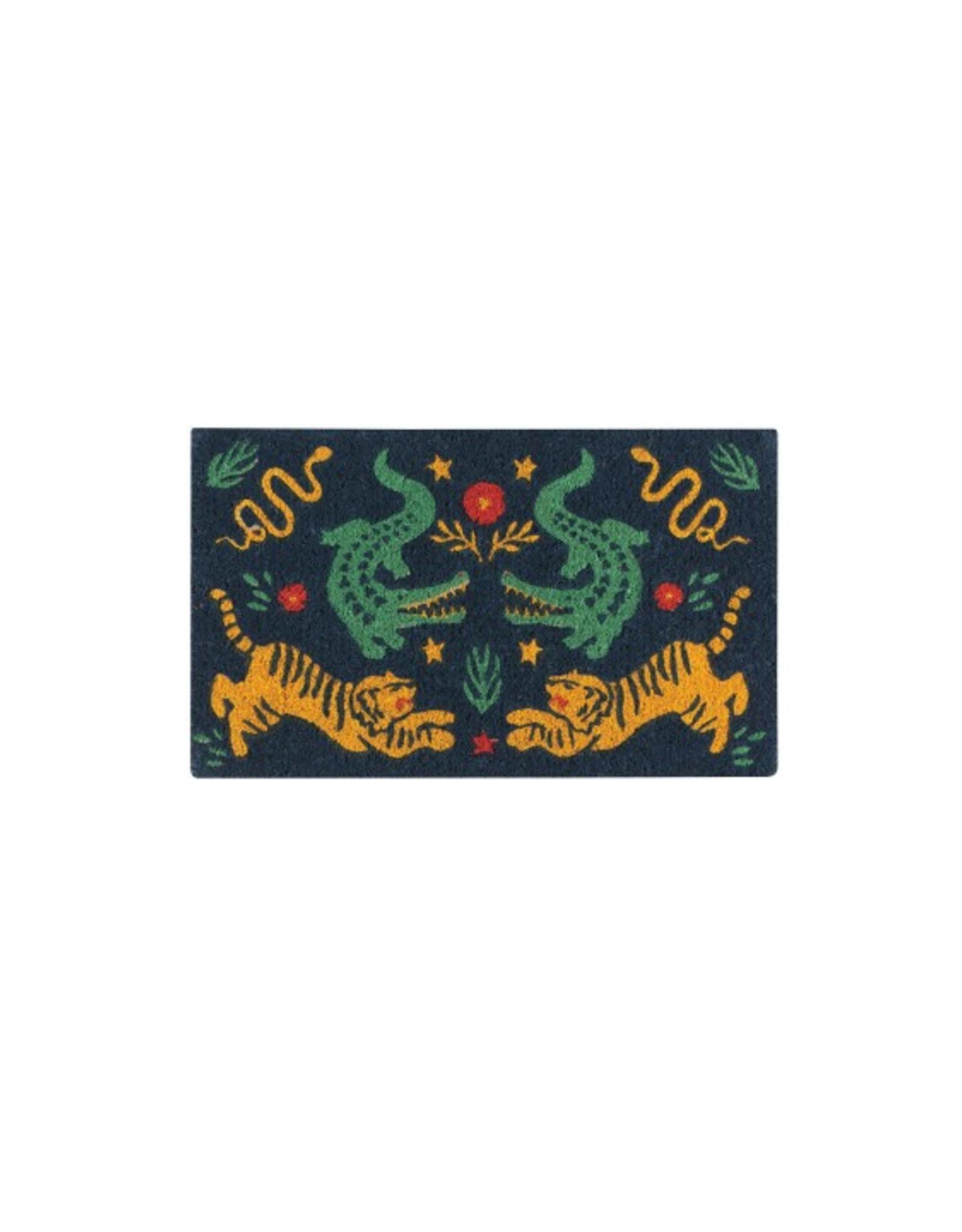 Fierce Tigers Doormat (CURBSIDE PICKUP ONLY)