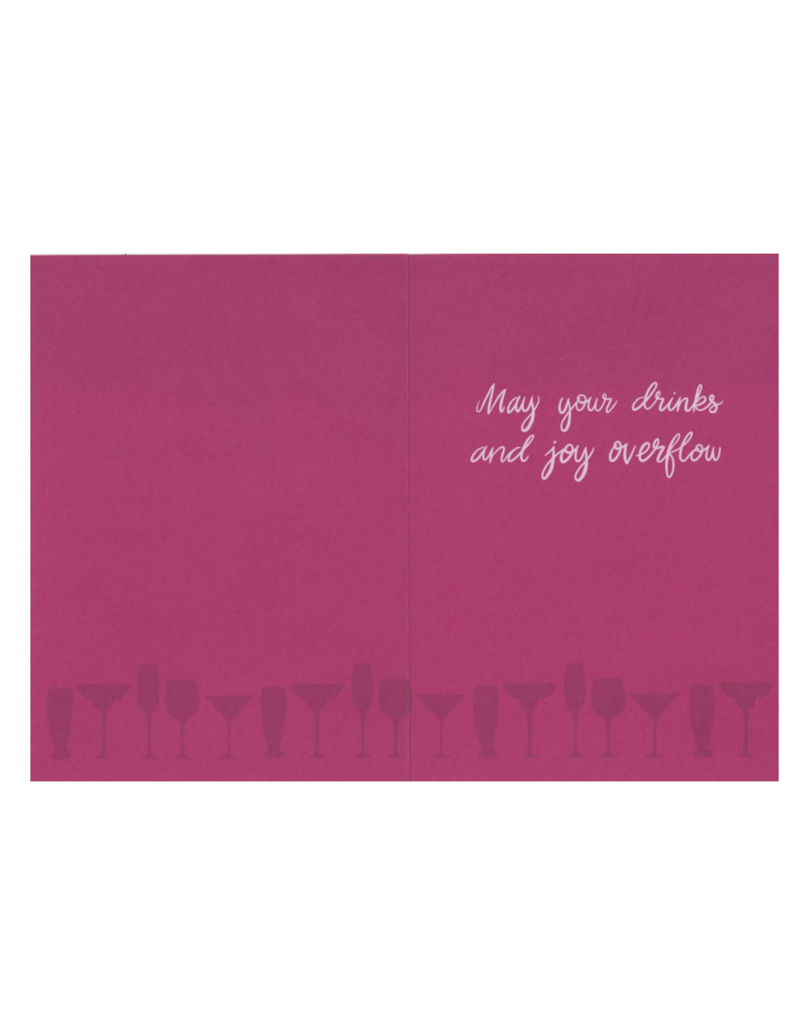 Cheers Birthday Girl Greeting Card