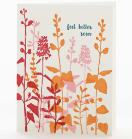 Feel Better Soon Floral Greeting Card