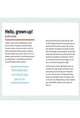 Secret Art of Being a Grown-up