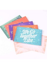 We Go Together Pop-Up Notecards