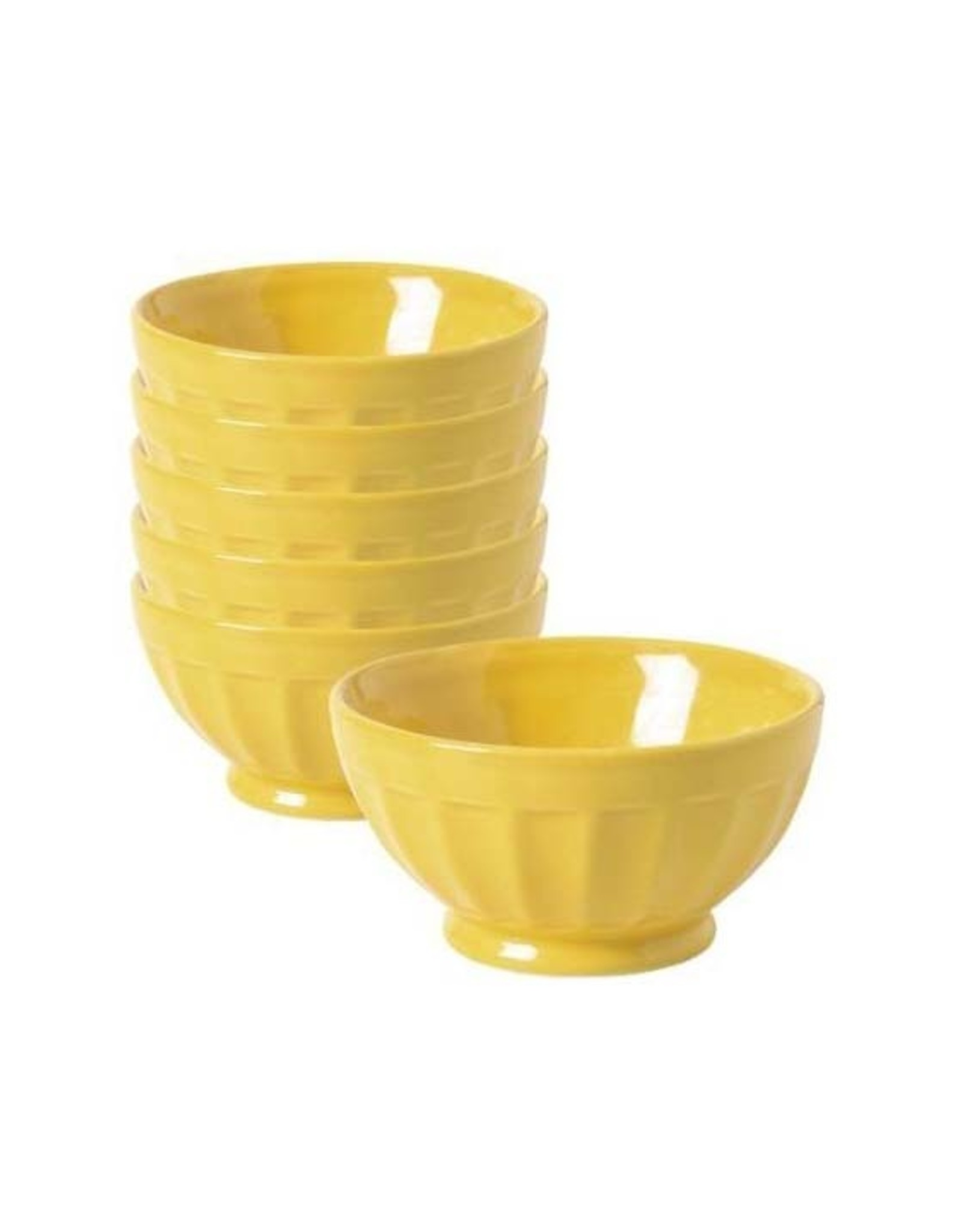 Yellow Cereal Bowl