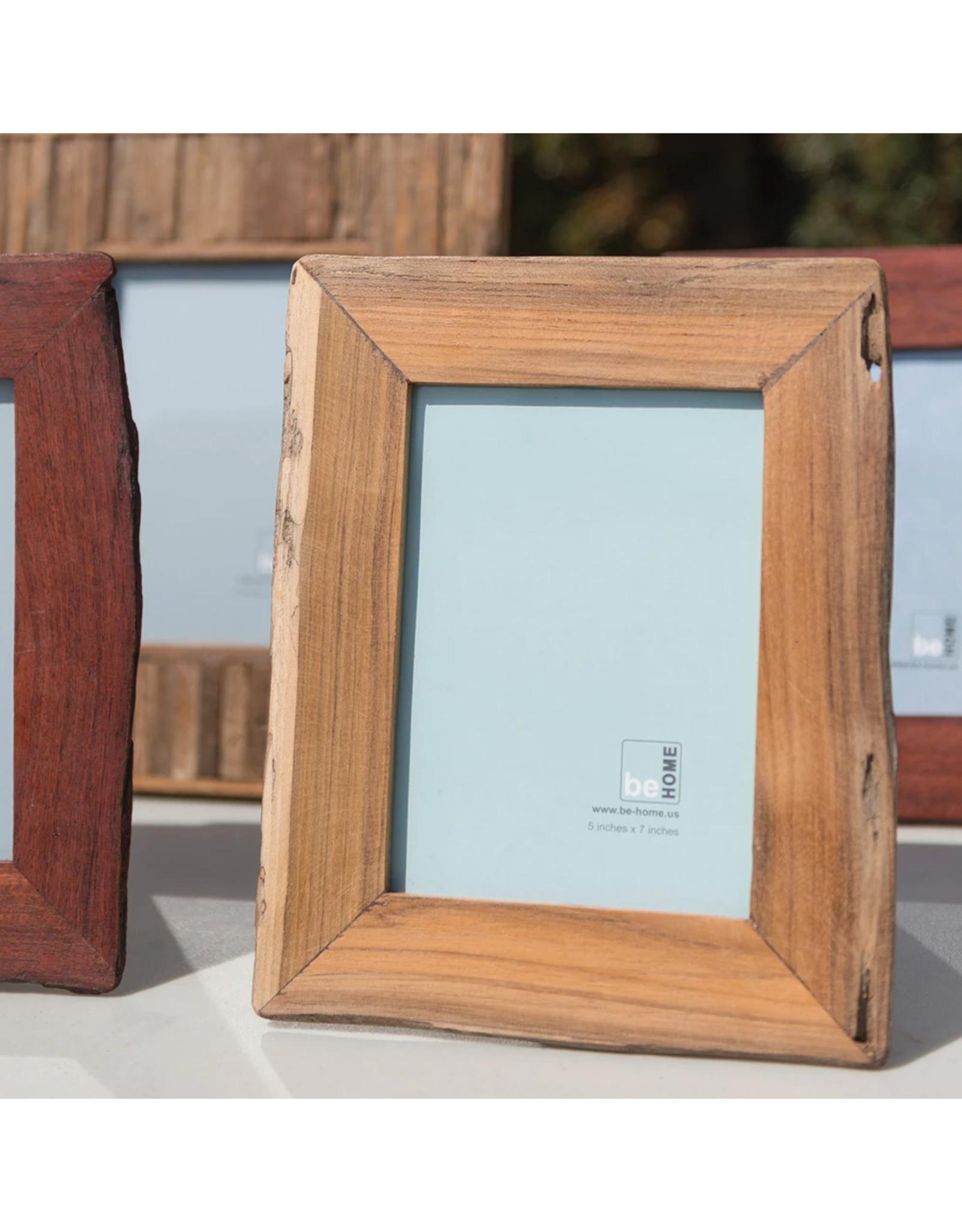 Reclaimed Wood Frame, Light 5x7